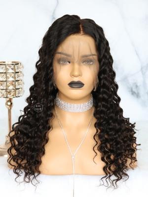 Black Curly 360 Wig Virgin Brazilian Hair [360W09]