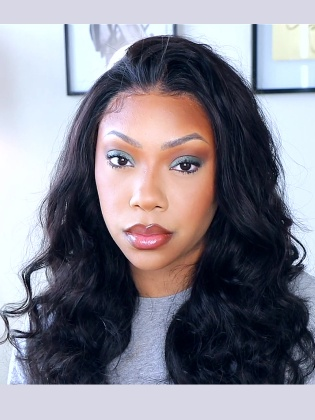 13X6 Lace Front Wig Body Wave Virgin Human Hair [RHW02]