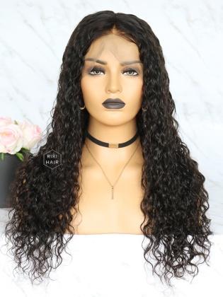 Loose curly 360 Frontal Wig Virgin Human Hair [360W10]