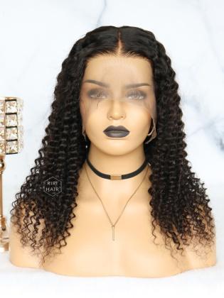 Deep Wave 360 Frontal Wig Virgin Human Hair [360W05]