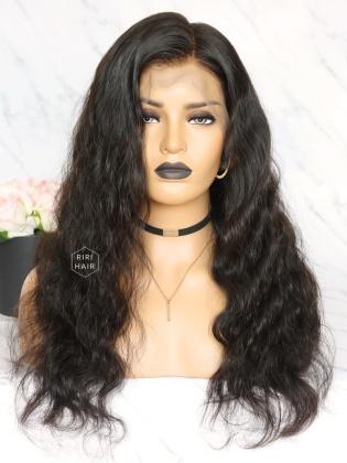 Natural Wave Virgin Brazilian Human Hair 360 Frontal Wig [360W02]