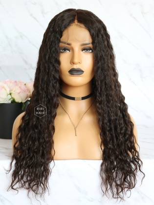 Virgin Brazilian Hair curly Lace Front Wig [RLW09]