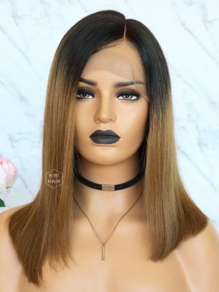 Kim.K Ombre Brown Blunt Bob Style Virgin Brazilian Hair [RBW03]