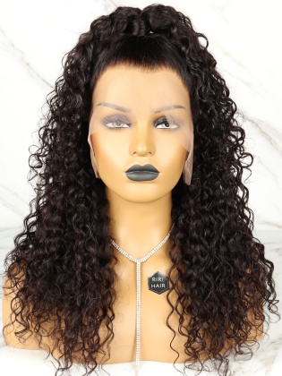 Ciara Inspired Curly 13X6 Frontal Wig Pre-Plucked Hairline [RHW09]