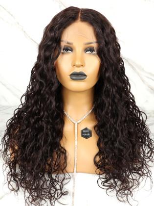 Loose Wavy 13X6 Frontal Wig Virgin Human Hair [RHW05]