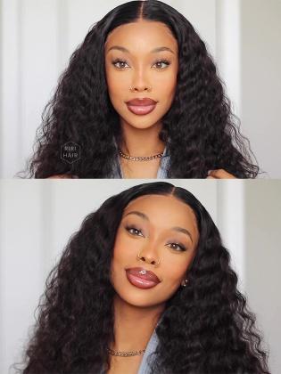 13X6 Frontal Wig Deep Wave Virgin Human Hair [RHW04]