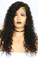 full lace wig curly hair